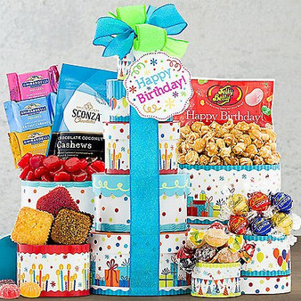 """Moscow Ballet and Great Arrivals' Gourmet Birthday """"Make a Wish"""" Gift Tower"""
