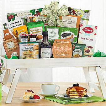 Moscow Ballet and Great Arrivals' Gourmet Breakfast in Bed Basket