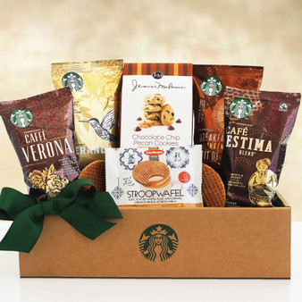 Moscow Ballet and Great Arrivals' Premium Starbucks Coffee Sampler Basket