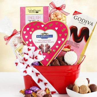 Moscow Ballet and Great Arrivals' Valentine's Day Gift Basket for Chocolate Lovers