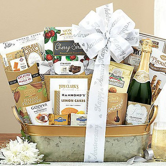 Moscow Ballet and Great Arrivals' Sparkling Surprise: Anniversary Champagne Gift Basket