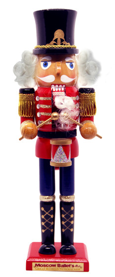 Moscow Ballet's Classic Nutcracker Soldier Drummer Red Front