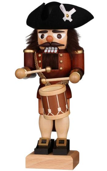 Ulbricht Natural Wooden Nutcracker Drummer