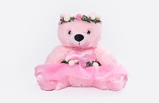 Moscow Ballet's Pink Waltz of the Flowers Plush Teddy Bear