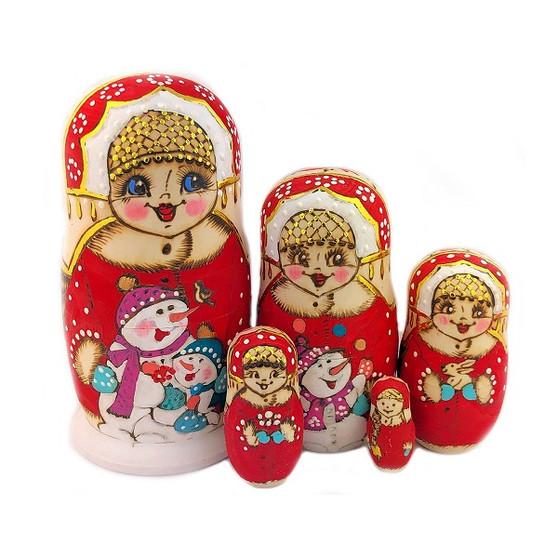 Moscow Ballet Winder Wonderland Nesting Doll for Nutcracker Season!