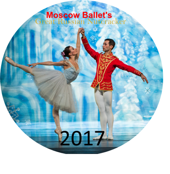 Moscow Ballet's 2017 Dance with Us Great Russian Nutcracker performance DVDs
