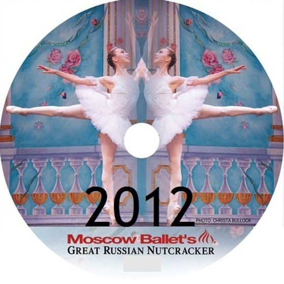 Moscow Ballet's Great Russian Nutcracker 2012 Dance with Us performance DVDs
