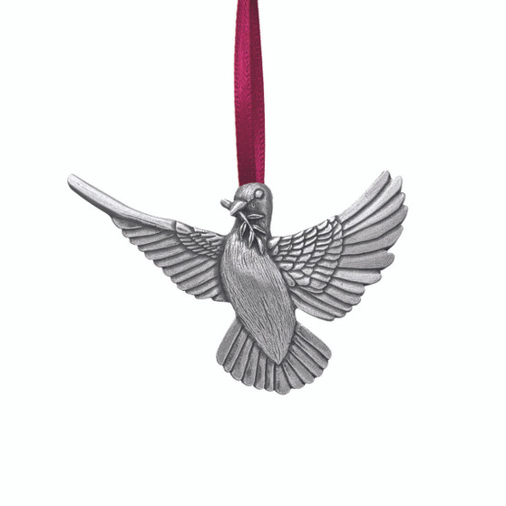 Unique Dove of Peace Danforth Pewter and Moscow Ballet Hanging Tree Ornament