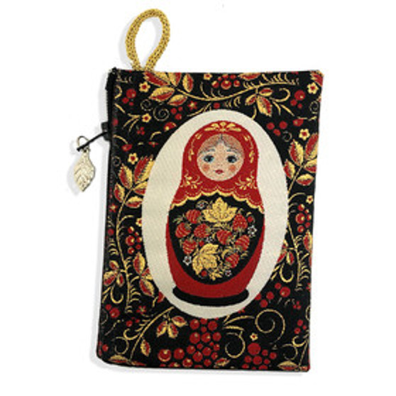 Matryoshka Pouch Purse from Moscow Ballet