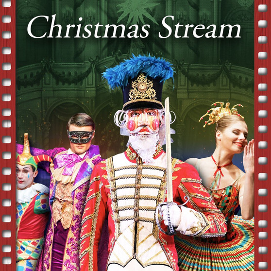 Get your group's discounted digital tickets to Moscow Ballet's Great Russian Nutcracker streaming experience this Christmas!