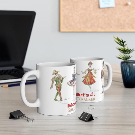 Nutcracker Costume Design Ceramic Mug 11oz