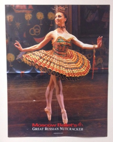 Moscow Ballet's Great Russian Nutcracker Kissy Doll Poster