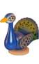Ulbricht peacock nutcracker collector piece