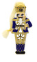 Moscow Ballet Nutcracker Soldier Metal-Enamel and Gem Ornament Red and Blue Reversible