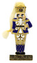 Moscow Ballet's Great Russian Nutcracker Enamel and Gem Hanging Nutcracker Soldier Christmas Ornament Blue