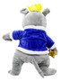 Moscow Ballet's Rat King Plush Blue and Grey Back