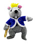 Moscow Ballet's Rat King Plush Blue and Grey Front
