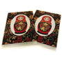 Set of 2 Tapestry coasters made in Turkey and from Moscow Ballet