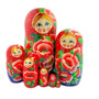 Large matryoshka nesting doll set with Poppy Design hand crafted in Russia from Moscow Ballet
