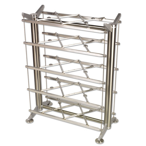 Stillpoints ESS 28 Grid rack would actually have only 3 shelves and be 28 inches tall. This is a picture to illustrate the Grid system only.