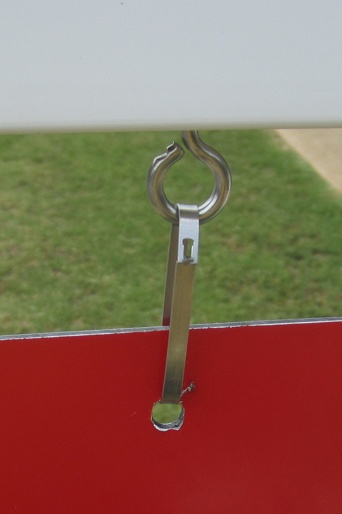 hardware to hang sign