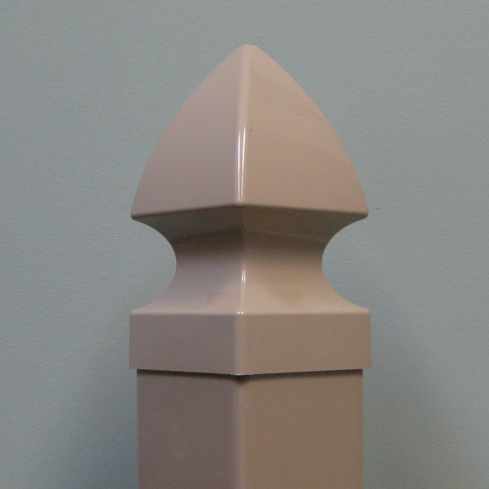 "Essex 4"" x 4"" Vinyl Post Cap - Khaki"
