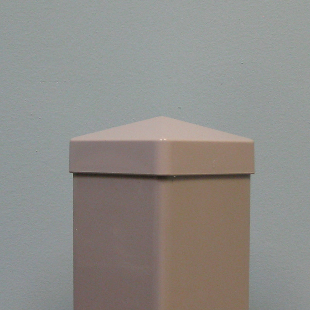 "Hampshire 4"" x 4"" Vinyl Post Cap - Khaki"