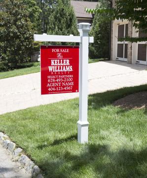 Khaleesi Vinyl Real Estate Post - White