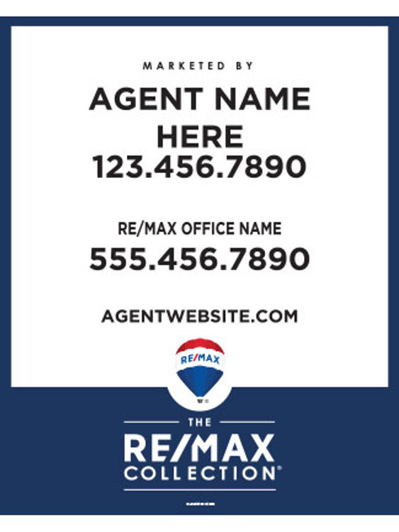RE/MAX Collection Hanging - 30T X 24W