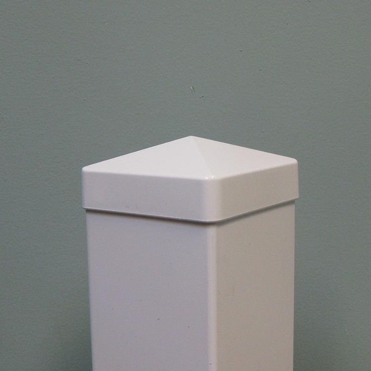 "Hampshire 4"" x 4"" Vinyl Post Cap - White"