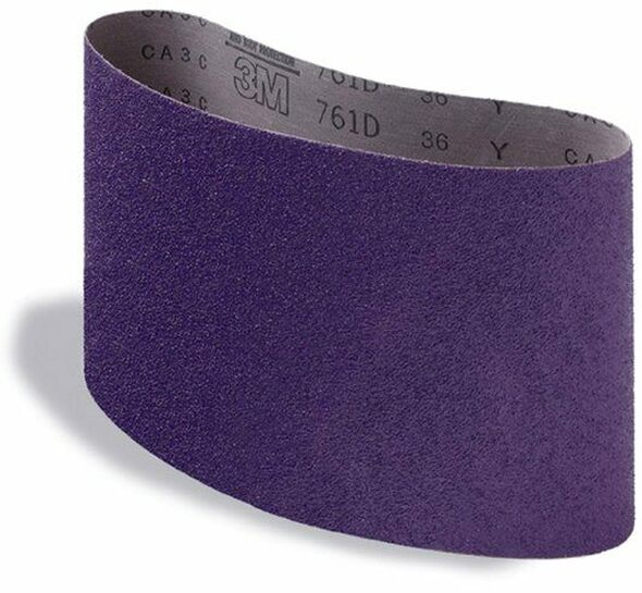 3M Regalite  8 Inch (7-7/8 x 29-1/2) Floor Sanding Belts / BOX WITH 10