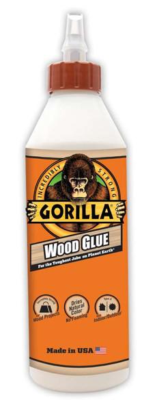 Gorilla Glue 6205001 Glue Wood Gorilla 18 Ounce