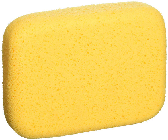 QEP 70005Q-6D 7.5 Inch x 5.5 Inch x 1.875 Inch Grouting, Cleaning and Washing Sponge, X-Large, 6-Pack