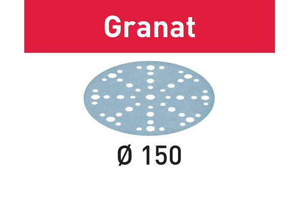 "Festool 575154 40 Grit GRANAT For 6"" Sander, 10X"
