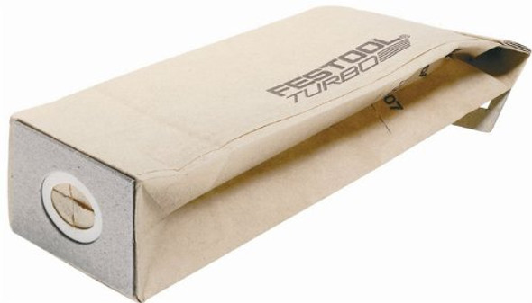Festool 489127 Turbo Dust Bag For DTS 400, RTS 400 And ETS 125 Sanders, 25-Pack