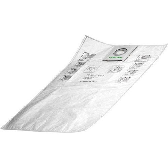 Festool 497539 Self Clean Filter Bags for Ct 48 Model