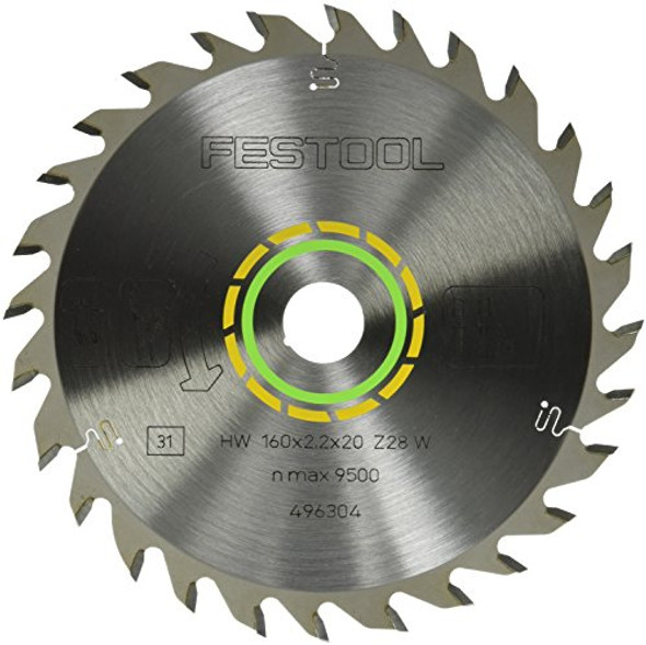 Festool 496304 Universal 28-Tooth Saw Blade