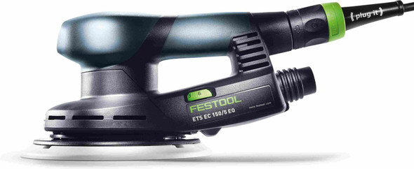 "Festool 576339 ETS EC 150/5 EQ 150mm (6"") Compact Brushless Finish Sander w/ Systainer³"