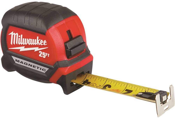Milwaukee Tape Measure 25Ft Magnetic