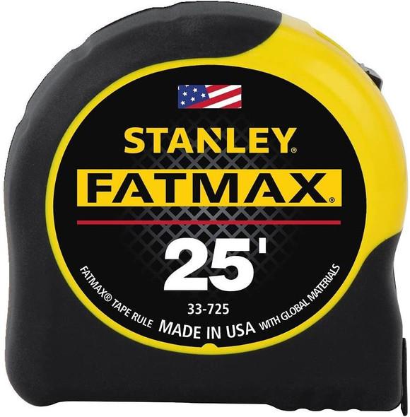 STANLEY FATMAX Tape Measure, 25-Foot