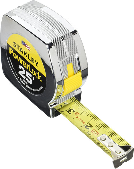 Stanley Powerlock Professional Tape Measure, 25- Foot