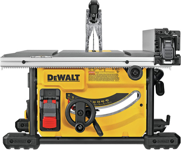 DEWALT Table Saw for Jobsite, Compact, 8-1/4-Inch