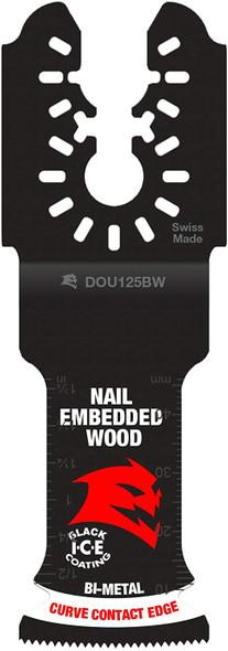 "Diablo DOU125BW3 1-1/4"" Universal Fit Bi-Metal Osc Blades for Nail-Embedded Wood (3Pk)"
