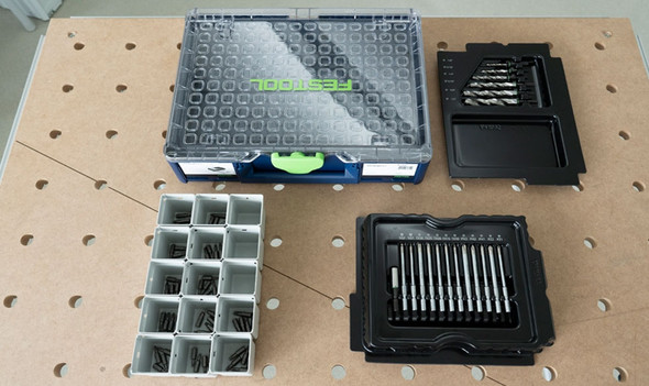 Festool 576932 Limited Edition 94-Piece Systainer3 Organizer Centrotec Set