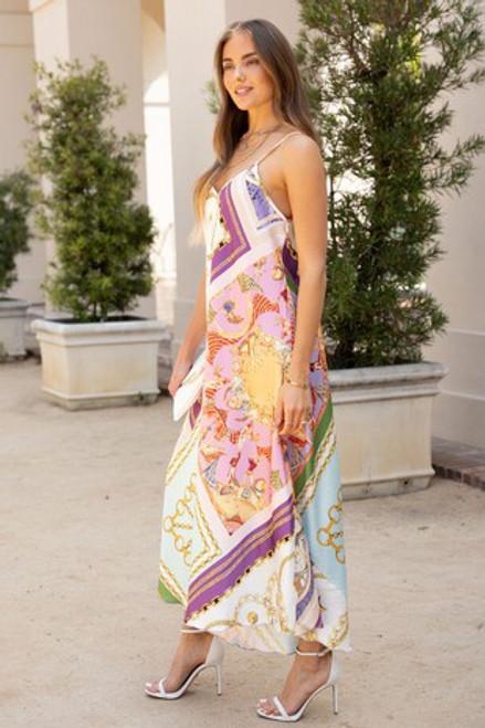 Handkerchief Chain Dress