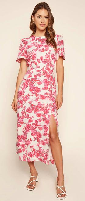 Antoinette Floral Bloom Midi Dress