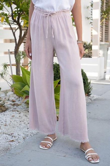 Front Hem Pants