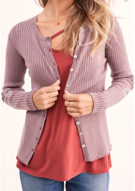 Button Up Top Knit