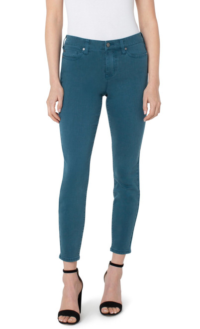 Abby Ankle Skinny Teal