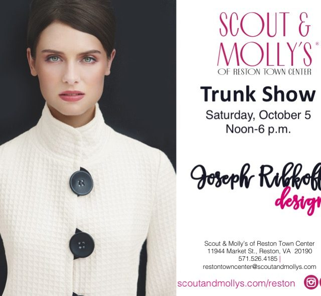 joseph ribkoff oct trunk show clothing stores near reston